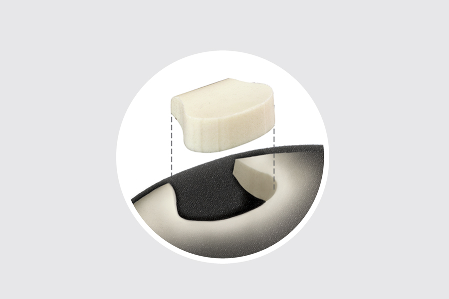 Lifeform Foam Circle Cut out