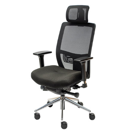 Lifeform® chairs Mesh-back