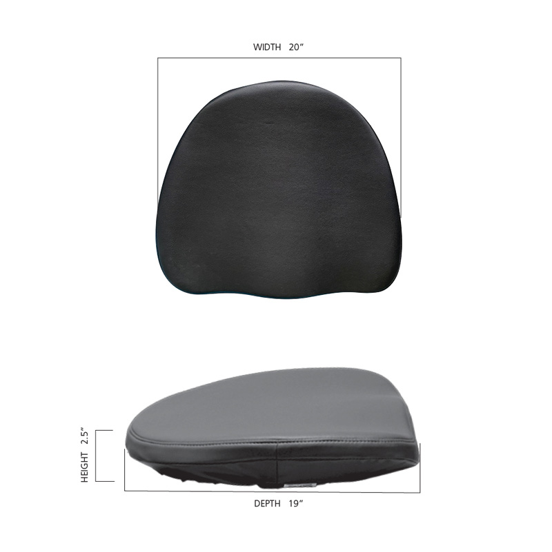 Size Guide Image for LIFEFORM Executive Cushion Seat