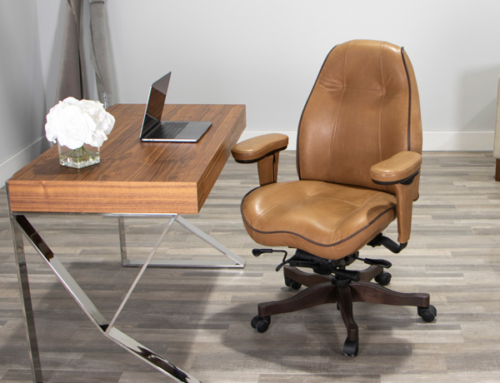 Real, but not perfect. Natural leather office chairs – with a story.