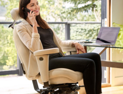 Create your own luxury: a personalized, built-for-you office chair
